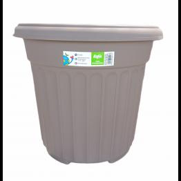 Baba Brand RD-392 Plastic Pot Zen Brown